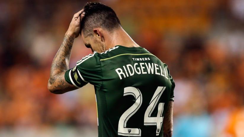 Liam Ridgewell - Portland Timbers - Sad