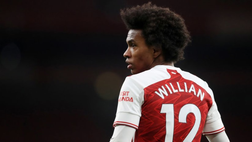 Report: Arsenal's Willian drawing interest from MLS