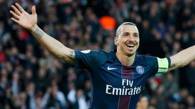Zlatan ibrahimovic - Paris St. Germain - Arms wide open
