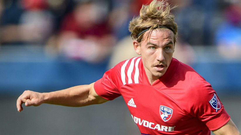 Paxton Pomykal - FC Dallas - tight shot
