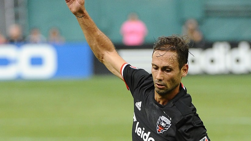 Marcelo Sarvas in action for D.C. United - 7/31/16