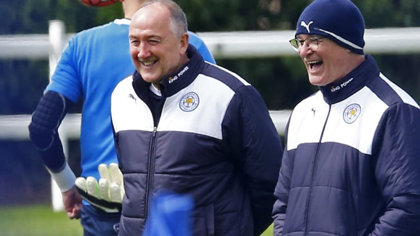 Steve Walsh - Leicester City - Charlotte