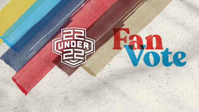 22 Under 22 - 2018 - fan vote