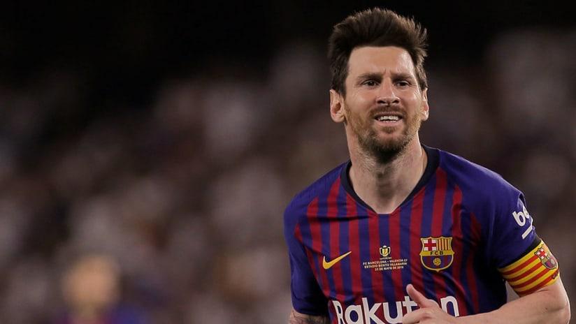 Lionel Messi - FC Barcelona - Close up