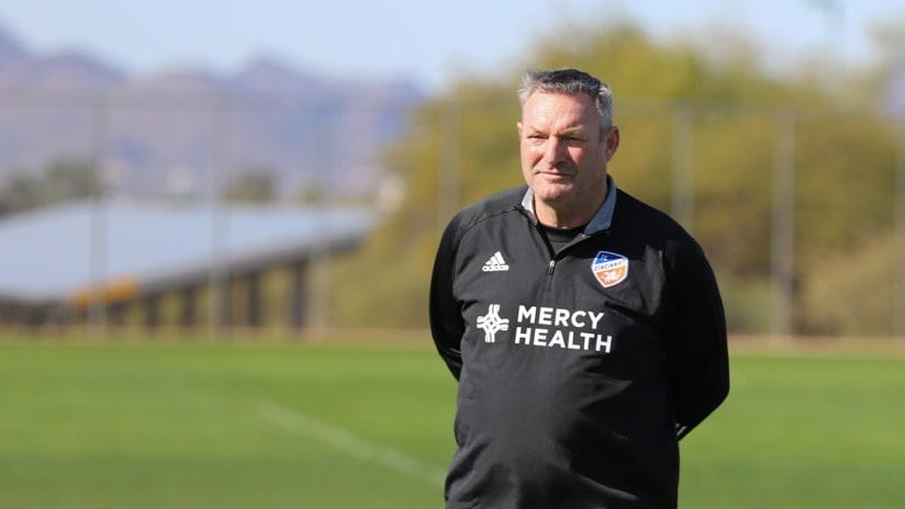 Ron Jans - FC Cincinnati - preseason
