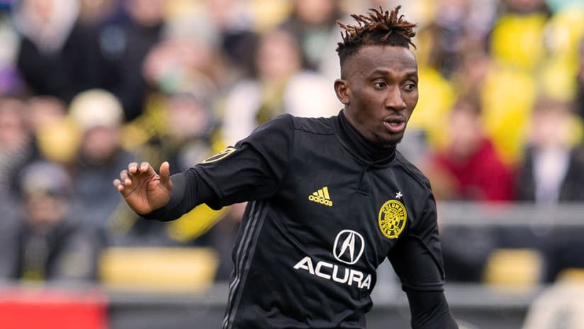 Harrison Afful - Columbus Crew SC - Close up