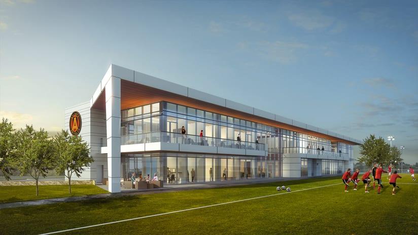 Atlanta United training facility renderings - April 2016
