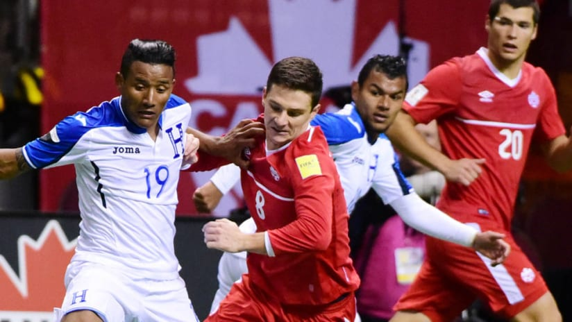 Will Johnson, Luis Garrido - Canada, Honduras - Battle at BC Place