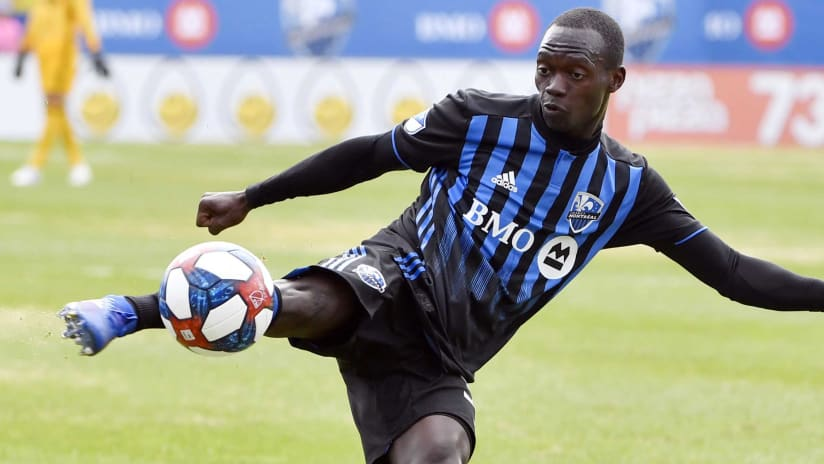 Micheal Azira - Montreal Impact - in action