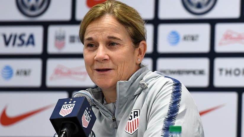 Jill Ellis - US women's national team - press conference