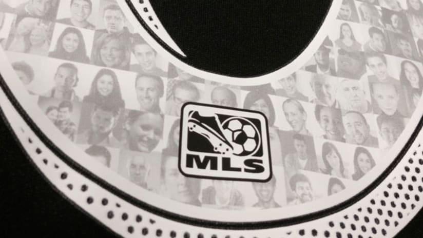 MLS fan-numbered jersey