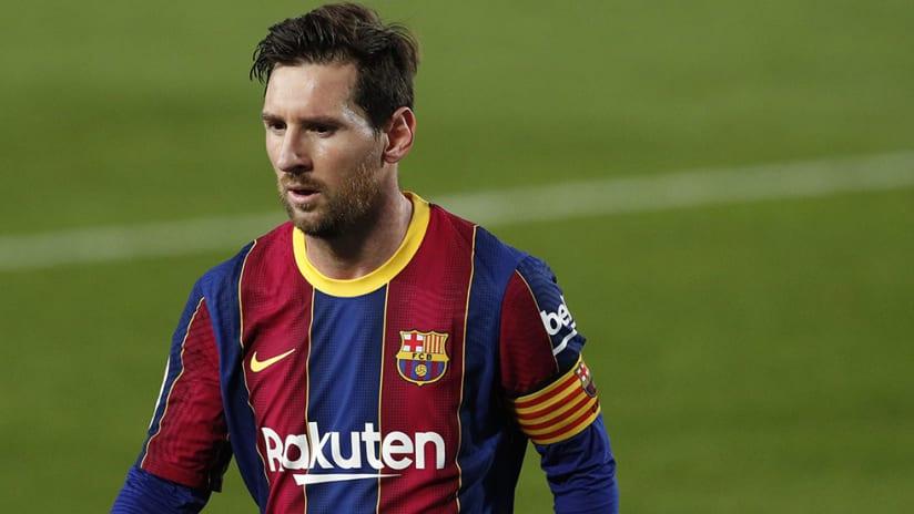 Lionel Messi - FC Barcelona - tight shot