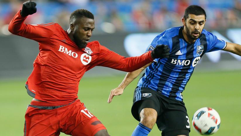Jozy Altidore - Toronto FC - Victor Cabrera - Montreal Impact