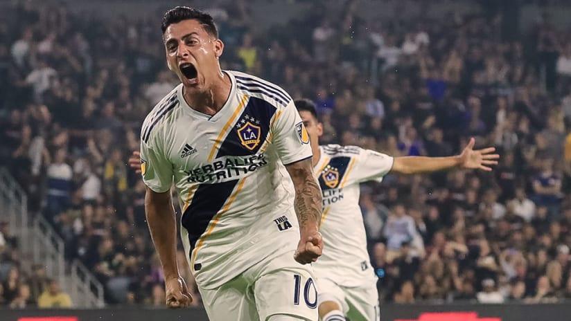 Cristian Pavon - LA Galaxy - Celebrate