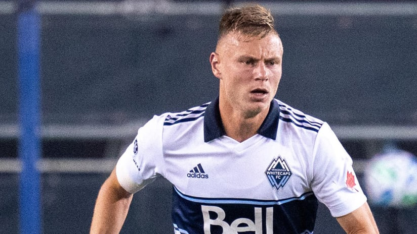 Andy Rose - Vancouver Whitecaps - tight shot