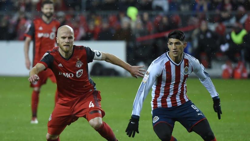 Michael Bradley, Alan Pulido - Toronto FC vs. Chivas - CCL final leg 1
