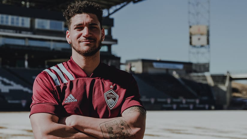 Michael Edwards - Colorado Rapids - signing