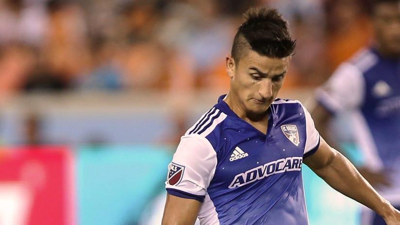 Mauro Diaz - FC Dallas - Close up