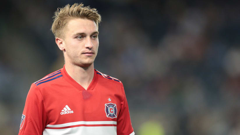 Djordje Mihailovic close up - Chicago Fire