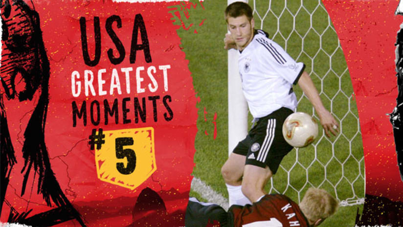 USA Top 10 Greatest Moments: No. 5 Germany quarterfinal