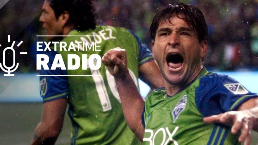 Nicolas Lodeiro - Seattle Sounders - ExtraTime Radio x 2