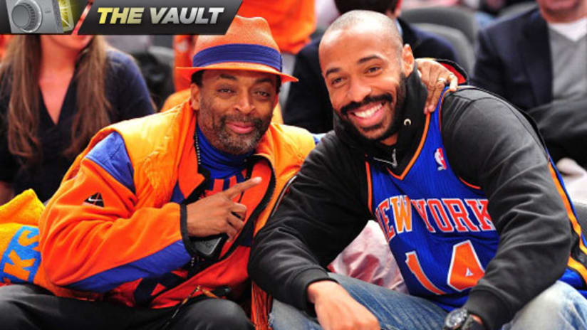Spike Lee and Thierry Henry Vault