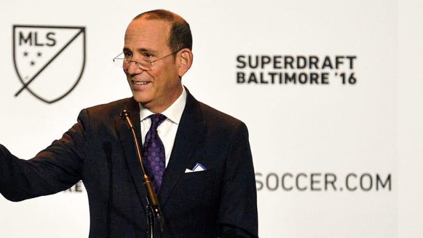 Don Garber - 2016 MLS SuperDraft