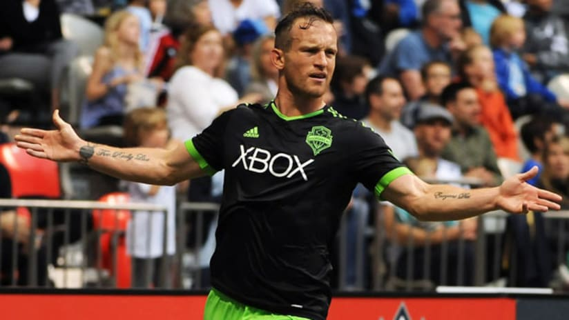 Chad Barrett scored two goals against the Vancouver Whitecaps (May 16, 2015)