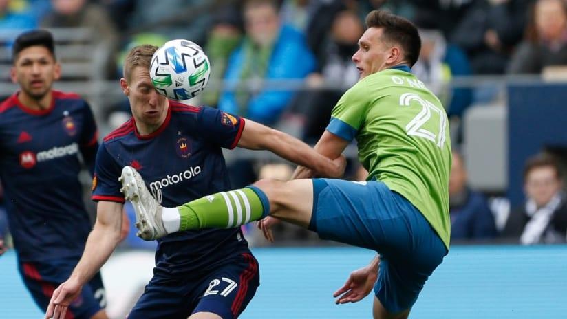 Shane O'Neill - Seattle Sounders - tackle