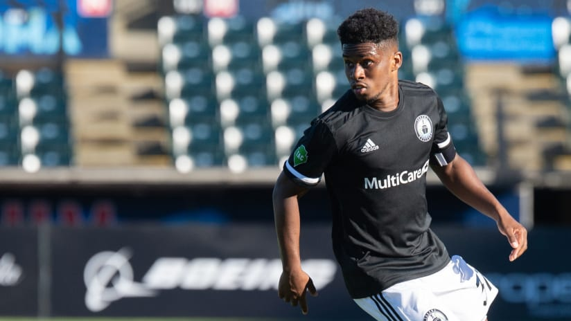 Nick Hinds with Tacoma - New Nashville SC player