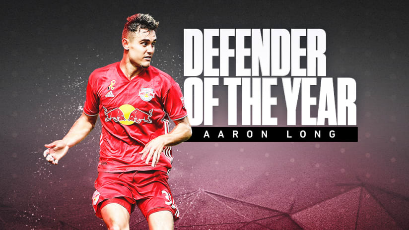 2018 Awards - Defender of the Year - Aaron Long