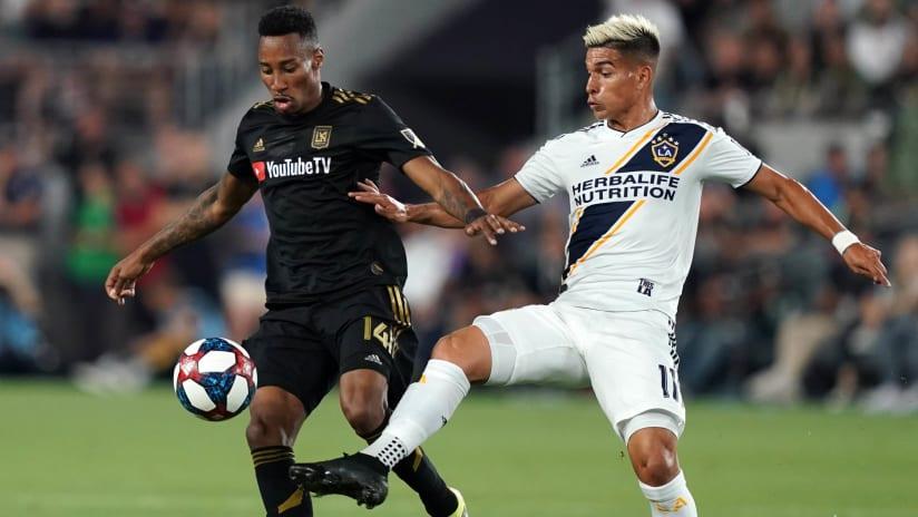 Mark-Anthony Kaye - Favio Alvarez - LAFC - LA Galaxy
