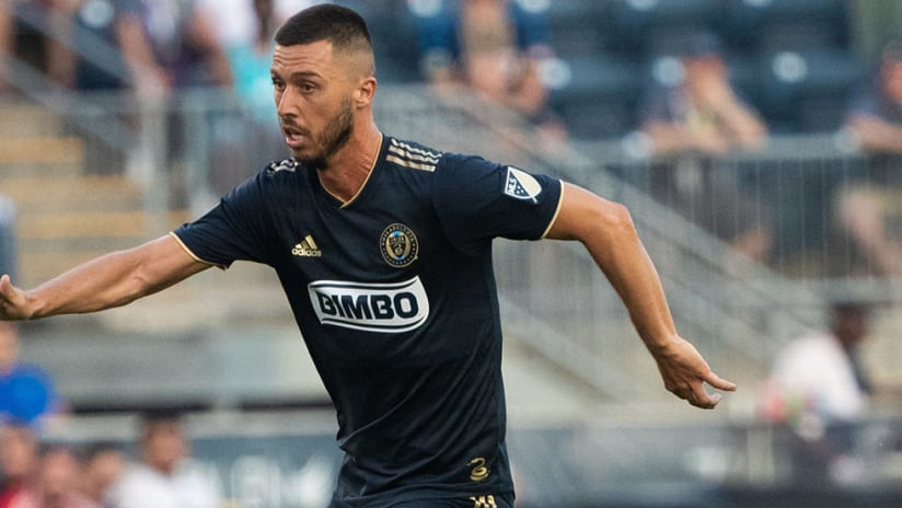 Haris Medunjanin – Philadelphia Union – looking upfield
