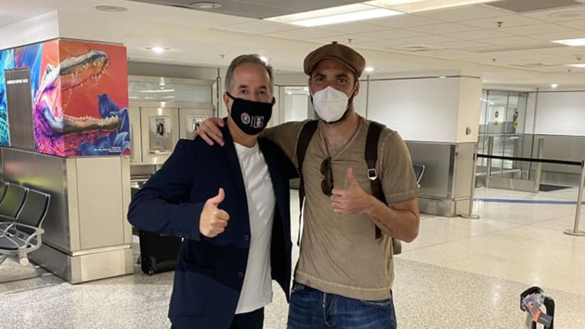 Jorge Mas and Gonzalo Higuain - THUMB