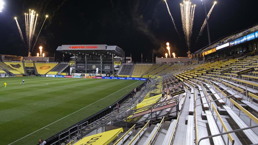 MAPFRE Stadium - Columbus Crew SC - wide shot