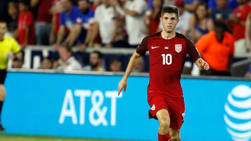 Christian Pulisic on the ball