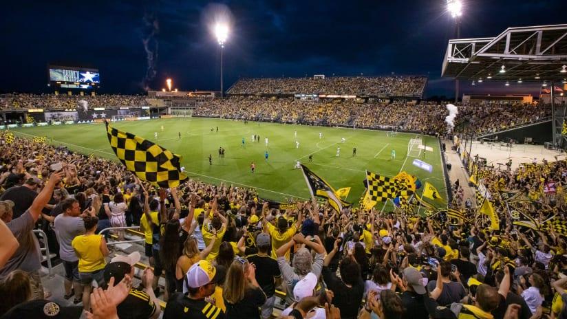 """Columbus Crew revel in """"perfect"""" Dos a Cero finale at Historic Crew Stadium"""