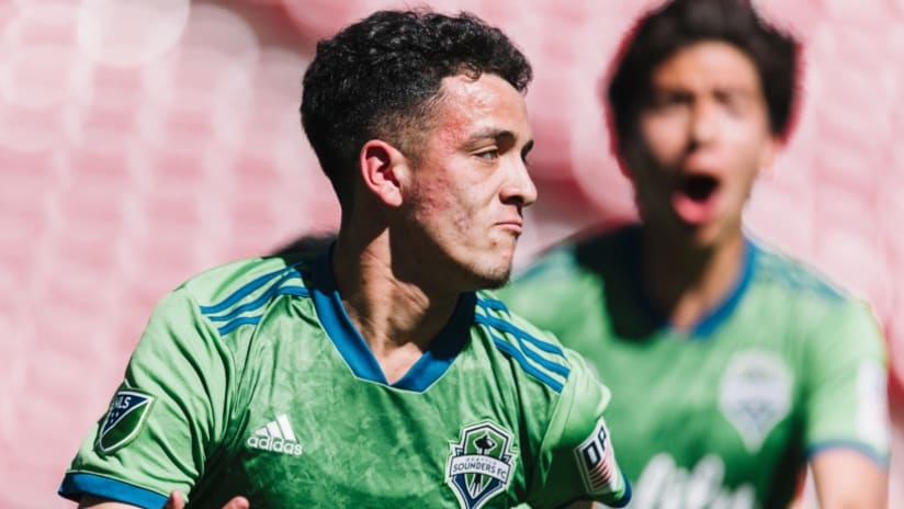 Alfonso Ocampo-Chavez - Seattle Sounders