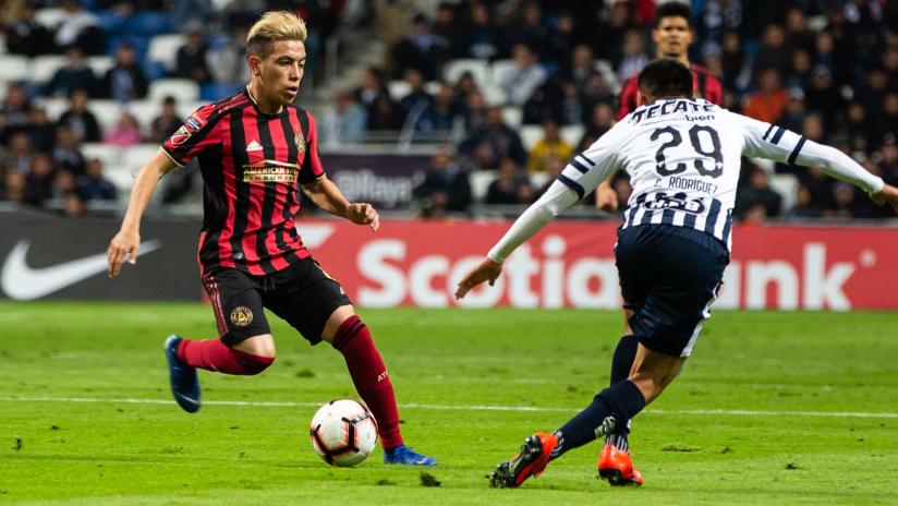 Ezequiel Barco - Atlanta United - Monterrey - CCL