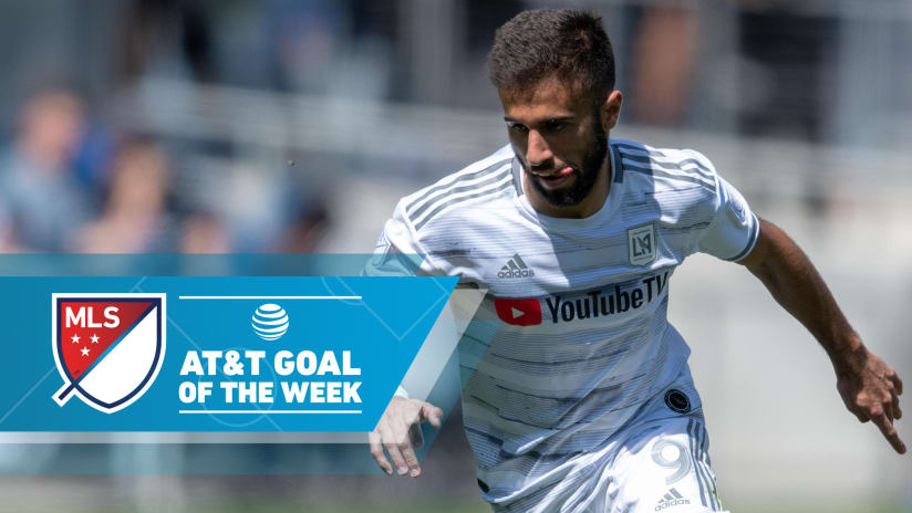 Diego Rossi - LAFC - Goal of the Week - tight shot