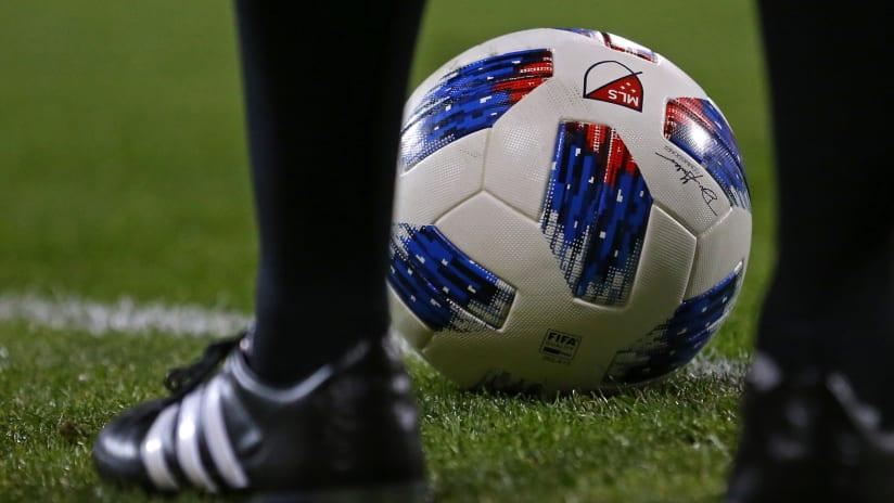 MLS ball - feet