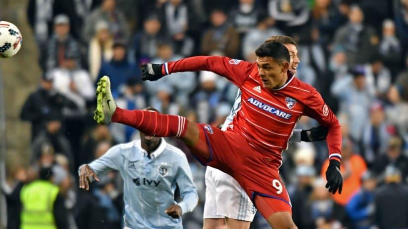 Cristian Colman, FC Dallas, vs Sporting KC