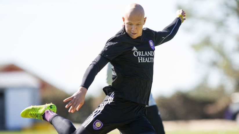 Mason Stajduhar - Orlando City - during training