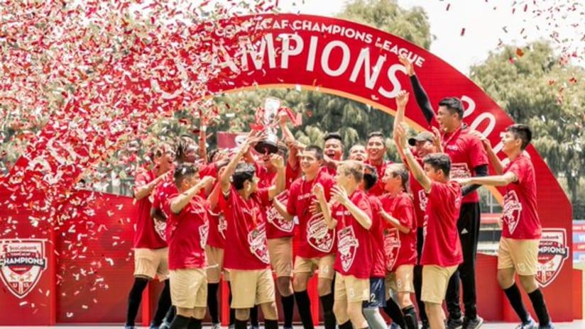 LAFC - 2018 U-13 CCL title celebration