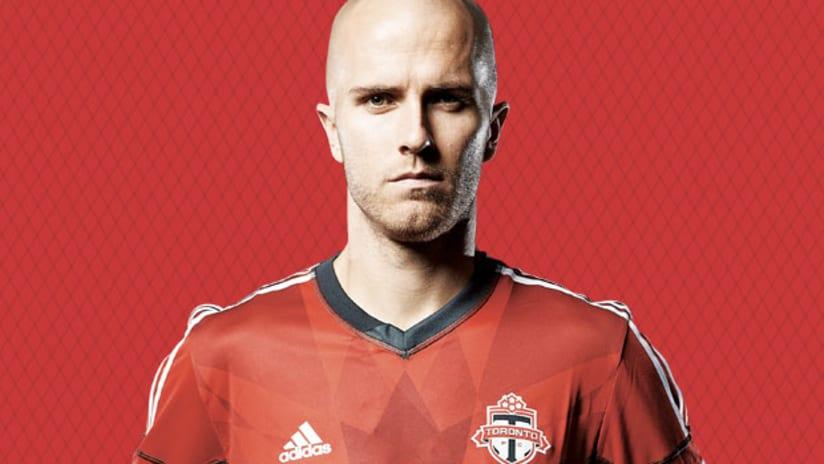 Michael Bradley, Toronto FC (stylized)