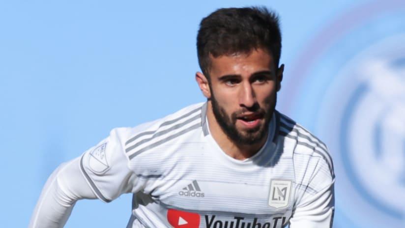 Diego Rossi - LAFC - close-up