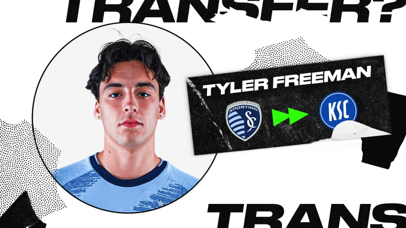 Sporting KC loan Tyler Freeman to Germany's Karlsruher SC