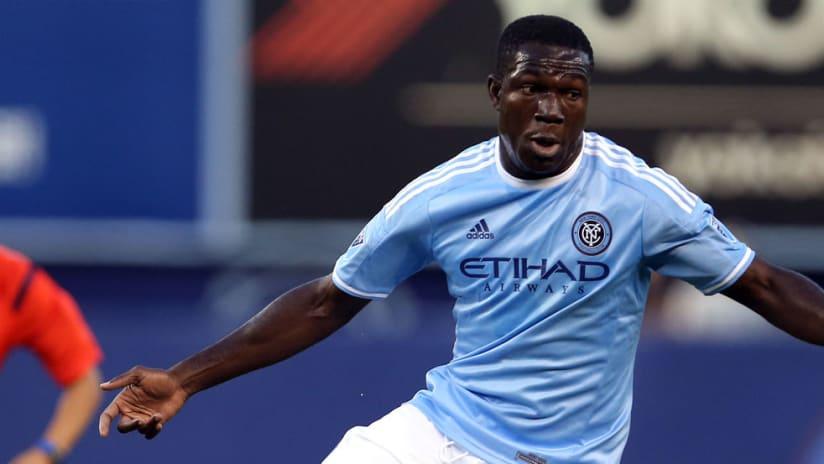 Kwadwo Poku - New York City FC - Solo shot