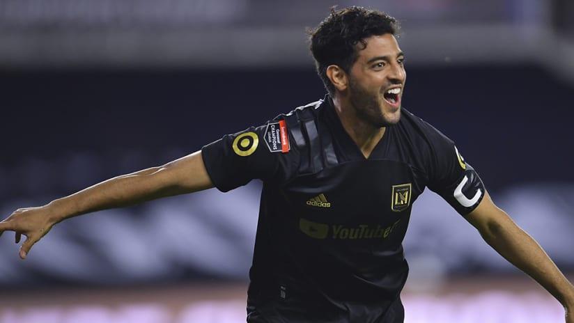 Carlos Vela - LAFC - CCL goal celebration