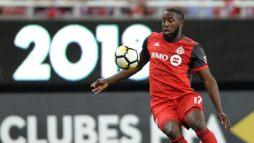 Jozy Altidore on the ball